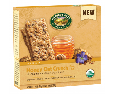 Honey Oat Crunch Flax Plus